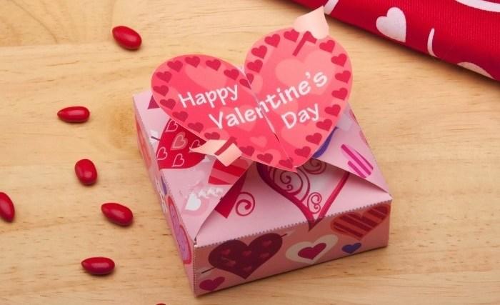 Подарок девочке на день святого валентина